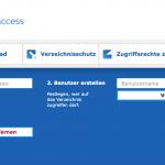 """Verzeichnisschutz mittels <br /><span style=""""color: #0e61b5;"""">b</span>placed<span style=""""color: #0e61b5;"""">live access</span>"""