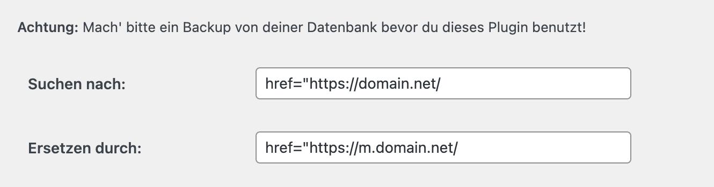 Better Search Replace-suchen-ersetzen