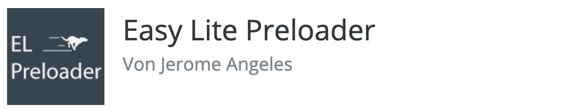 Easy Lite Preloader