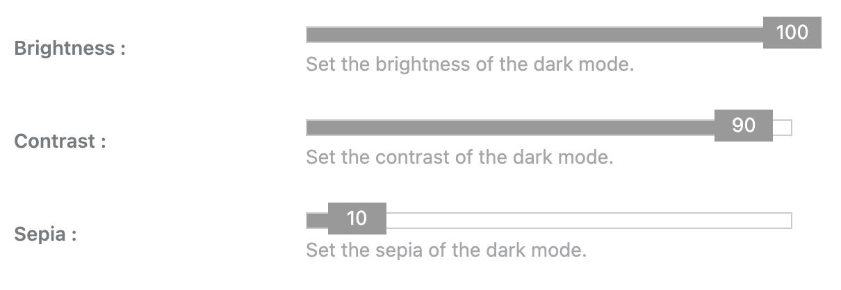 WP Dark Mode-Color_Settings-brightness-contrast-sepia